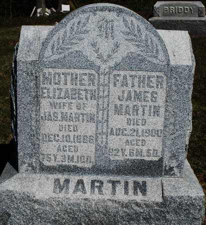 MARTIN, ELIZABETH - Preble County, Ohio | ELIZABETH MARTIN - Ohio Gravestone Photos