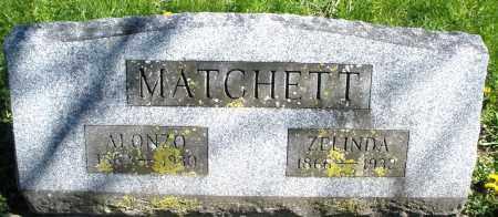 MATCHETT, ALONZO - Preble County, Ohio | ALONZO MATCHETT - Ohio Gravestone Photos