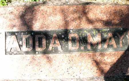 MAY, ADDA D. - Preble County, Ohio | ADDA D. MAY - Ohio Gravestone Photos