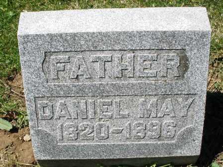 MAY, DANIEL - Preble County, Ohio   DANIEL MAY - Ohio Gravestone Photos