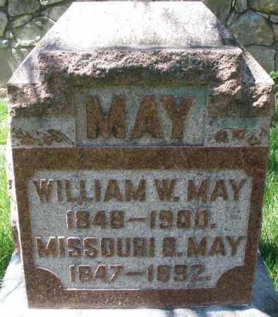 MAY, WILLIAM W. - Preble County, Ohio   WILLIAM W. MAY - Ohio Gravestone Photos