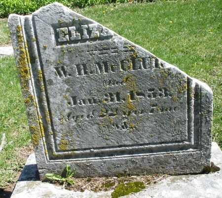 MCCLURE, ELIZABETH - Preble County, Ohio | ELIZABETH MCCLURE - Ohio Gravestone Photos