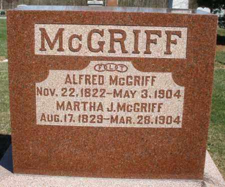 MCGRIFF, ALFRED - Preble County, Ohio | ALFRED MCGRIFF - Ohio Gravestone Photos