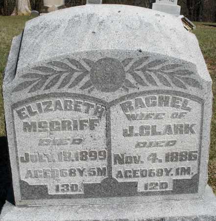 MCGRIFF, ELIZABETH - Preble County, Ohio | ELIZABETH MCGRIFF - Ohio Gravestone Photos