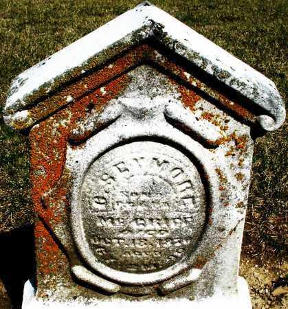 MCGRIFF, O.SEYMORE - Preble County, Ohio | O.SEYMORE MCGRIFF - Ohio Gravestone Photos