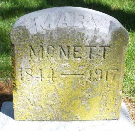 MCNETT, MARY - Preble County, Ohio   MARY MCNETT - Ohio Gravestone Photos