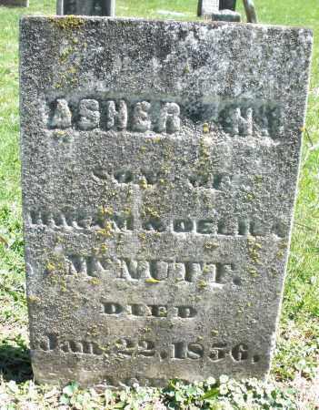 MCNUTT, ASHER H. - Preble County, Ohio | ASHER H. MCNUTT - Ohio Gravestone Photos
