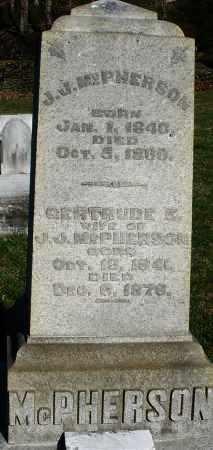 MCPHERSON, GERTRUDE E. - Preble County, Ohio   GERTRUDE E. MCPHERSON - Ohio Gravestone Photos
