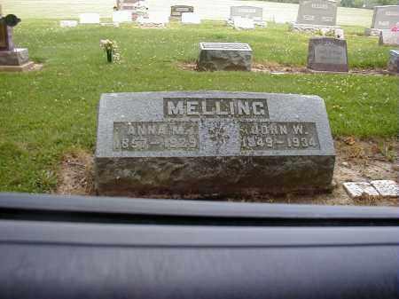 MELLING, JOHN W. - Preble County, Ohio | JOHN W. MELLING - Ohio Gravestone Photos