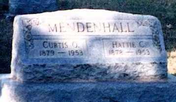 MENDENHALL, HATTIE C. - Preble County, Ohio | HATTIE C. MENDENHALL - Ohio Gravestone Photos