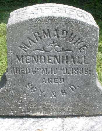 MENDENHALL, MARMADUKE - Preble County, Ohio | MARMADUKE MENDENHALL - Ohio Gravestone Photos