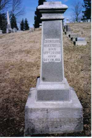 MIKESELL, CORNELIUS - Preble County, Ohio | CORNELIUS MIKESELL - Ohio Gravestone Photos