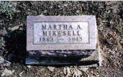 MIKESELL, MARTHA A. - Preble County, Ohio | MARTHA A. MIKESELL - Ohio Gravestone Photos
