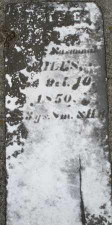 MILES ?, ? - Preble County, Ohio   ? MILES ? - Ohio Gravestone Photos
