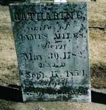 MILES, CATHARINE - Preble County, Ohio | CATHARINE MILES - Ohio Gravestone Photos