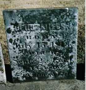 MILES, JEHU - Preble County, Ohio | JEHU MILES - Ohio Gravestone Photos