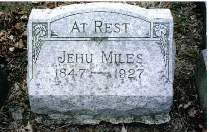 MILES, JEHU - Preble County, Ohio   JEHU MILES - Ohio Gravestone Photos