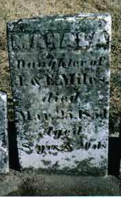 MILES, MAHALA - Preble County, Ohio   MAHALA MILES - Ohio Gravestone Photos