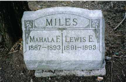 MILES, LEWIS E. - Preble County, Ohio | LEWIS E. MILES - Ohio Gravestone Photos