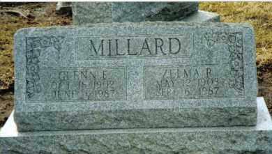MILLARD, GLENN E. - Preble County, Ohio | GLENN E. MILLARD - Ohio Gravestone Photos
