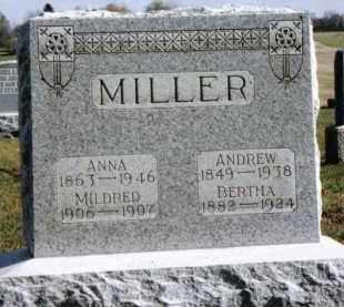 MILLER, MILDRED - Preble County, Ohio | MILDRED MILLER - Ohio Gravestone Photos