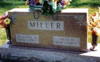 MILLER, OWEN D. - Preble County, Ohio | OWEN D. MILLER - Ohio Gravestone Photos