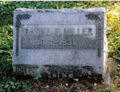MILLER, DANIEL E. - Preble County, Ohio | DANIEL E. MILLER - Ohio Gravestone Photos