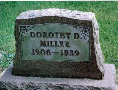 MILLER, DOROTHY D. - Preble County, Ohio   DOROTHY D. MILLER - Ohio Gravestone Photos
