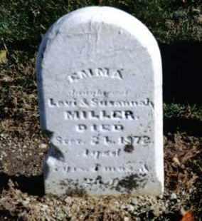 MILLER, EMMA - Preble County, Ohio | EMMA MILLER - Ohio Gravestone Photos