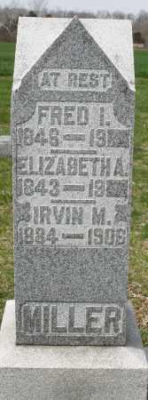 MILLER, FRED I. - Preble County, Ohio | FRED I. MILLER - Ohio Gravestone Photos