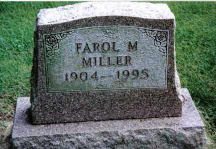 MILLER, FAROL M. - Preble County, Ohio | FAROL M. MILLER - Ohio Gravestone Photos