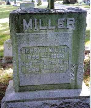MILLER, HENRY H. - Preble County, Ohio   HENRY H. MILLER - Ohio Gravestone Photos