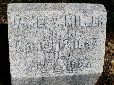 MILLER, JAMES W. - Preble County, Ohio | JAMES W. MILLER - Ohio Gravestone Photos