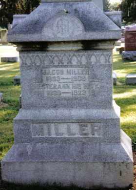 MILLER, ESTERANN - Preble County, Ohio   ESTERANN MILLER - Ohio Gravestone Photos