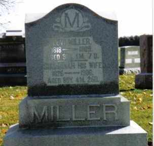 MILLER, LEVI - Preble County, Ohio | LEVI MILLER - Ohio Gravestone Photos