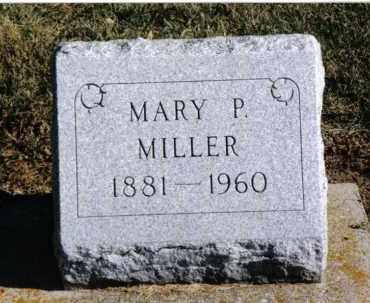 MILLER, MARY P. - Preble County, Ohio | MARY P. MILLER - Ohio Gravestone Photos