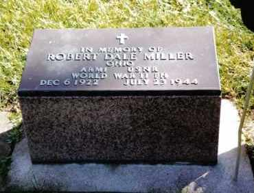 MILLER, ROBERT DALE - Preble County, Ohio | ROBERT DALE MILLER - Ohio Gravestone Photos