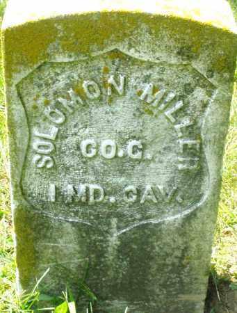 MILLER, SOLOMON - Preble County, Ohio | SOLOMON MILLER - Ohio Gravestone Photos