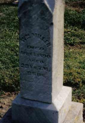 MILLER, WILLIAM - Preble County, Ohio | WILLIAM MILLER - Ohio Gravestone Photos