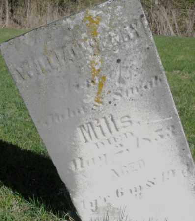 MILLS, WILLIAM HENRY - Preble County, Ohio   WILLIAM HENRY MILLS - Ohio Gravestone Photos