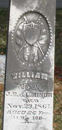 MINOR, WILLIAM - Preble County, Ohio | WILLIAM MINOR - Ohio Gravestone Photos