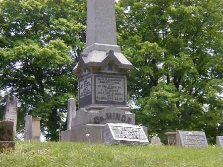 MINOR, LAVINIA CAROLINE - Preble County, Ohio   LAVINIA CAROLINE MINOR - Ohio Gravestone Photos