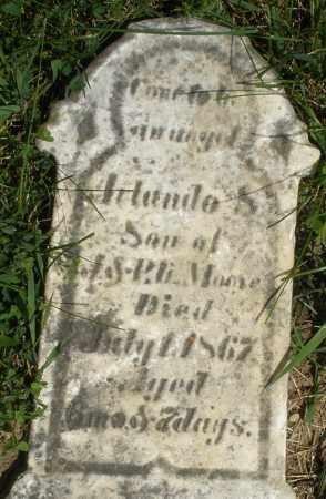 MOORE, ARLANDO - Preble County, Ohio | ARLANDO MOORE - Ohio Gravestone Photos