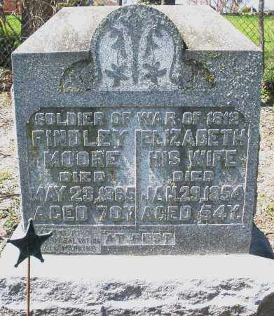 MOORE, FINDLEY - Preble County, Ohio | FINDLEY MOORE - Ohio Gravestone Photos