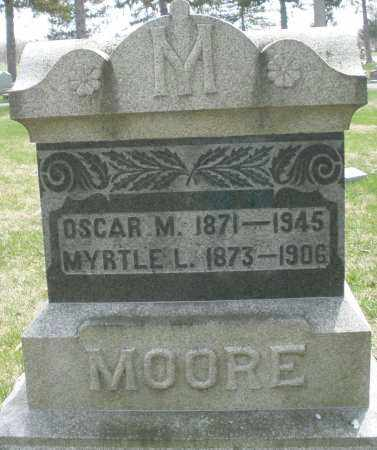 MOORE, OSCAR M. - Preble County, Ohio | OSCAR M. MOORE - Ohio Gravestone Photos