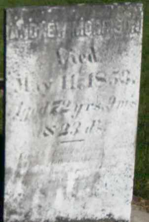 MORRISON, ANDREW - Preble County, Ohio | ANDREW MORRISON - Ohio Gravestone Photos