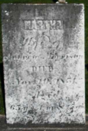 MORRISON, MARTHA - Preble County, Ohio | MARTHA MORRISON - Ohio Gravestone Photos