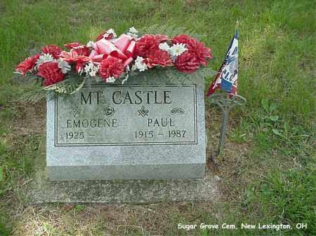 MTCASTLE, PAUL - Preble County, Ohio | PAUL MTCASTLE - Ohio Gravestone Photos