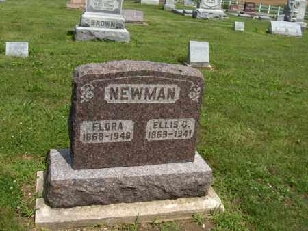 NEWMAN, ELLIS G - Preble County, Ohio   ELLIS G NEWMAN - Ohio Gravestone Photos