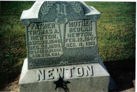 NEWTON, BEULAH - Preble County, Ohio | BEULAH NEWTON - Ohio Gravestone Photos